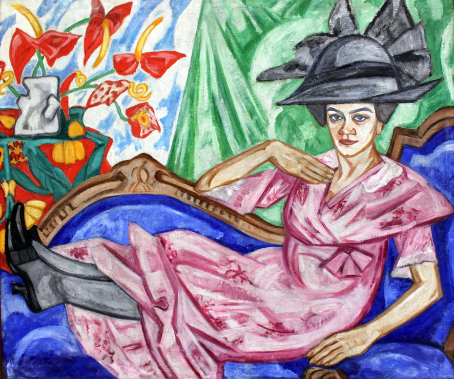 Portrait of Anna Vladimirvna Rozanova