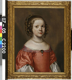 Portrait of Christina Pompe (1647-1722)