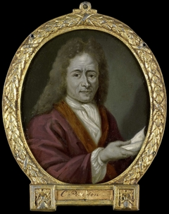 Portrait of Christoffel Pierson, Poet in Gouda