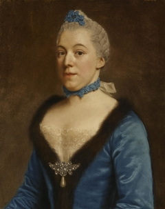 Portrait of Clara Magdalena Dedel (1727-1778) (copy)