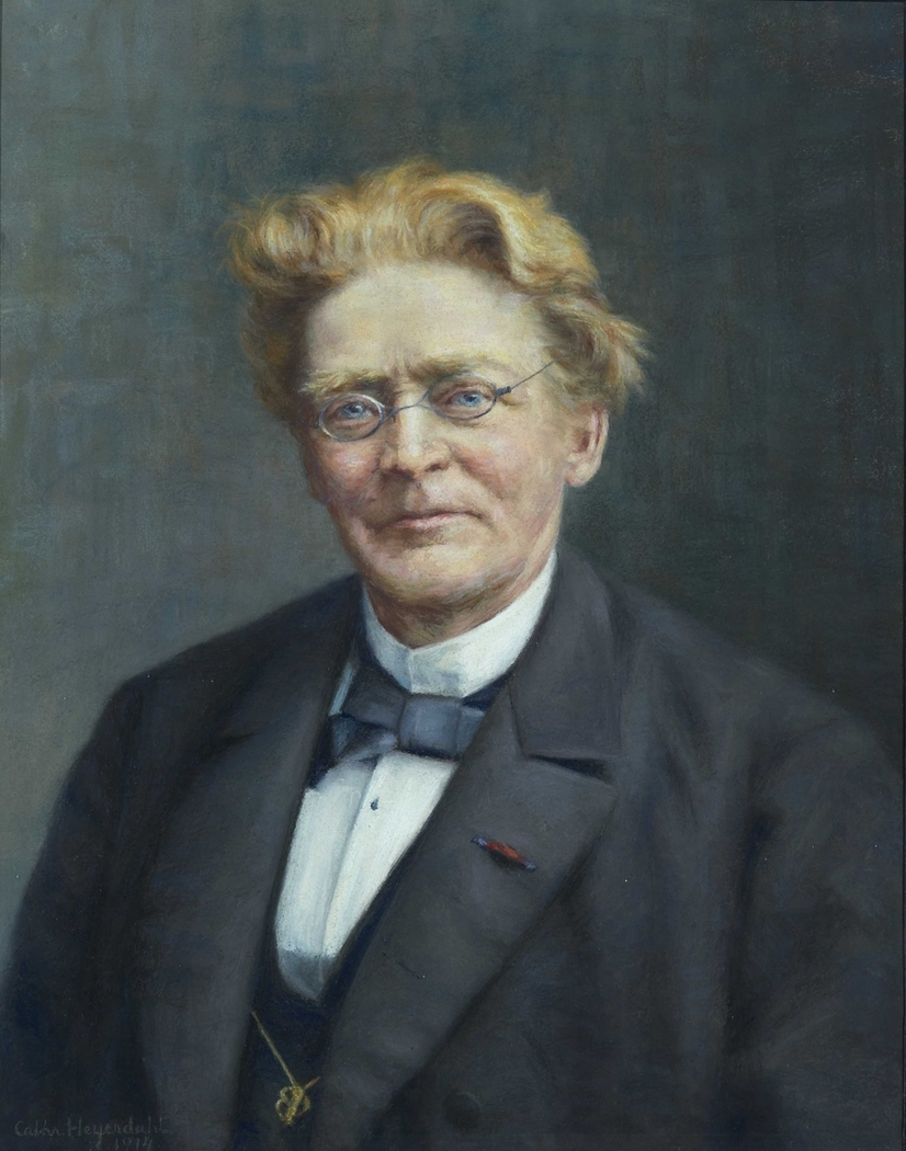 Portrait of David Graah