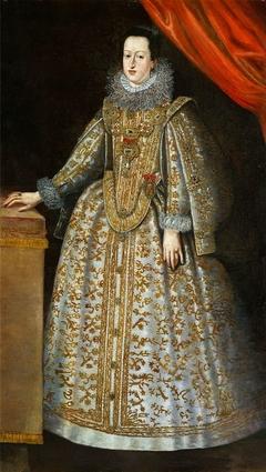 Portrait of Eleonora Gonzaga (1598-1655).