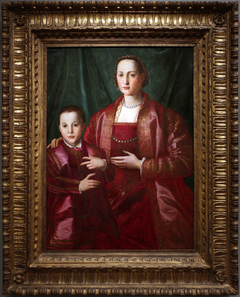 Portrait of Eleonora of Toledo and Her Son, Francesco de'Medici