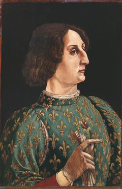 Portrait of Galeazzo Maria Sforza