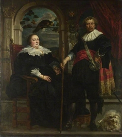 Portrait of Govaert van Surpele (?) and his Wife
