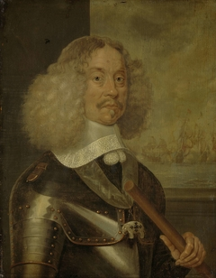 Portrait of Jacob Baron van Wassenaer, Lord of Obdam, Lieutenant-Admiral of Holland and West-Friesland
