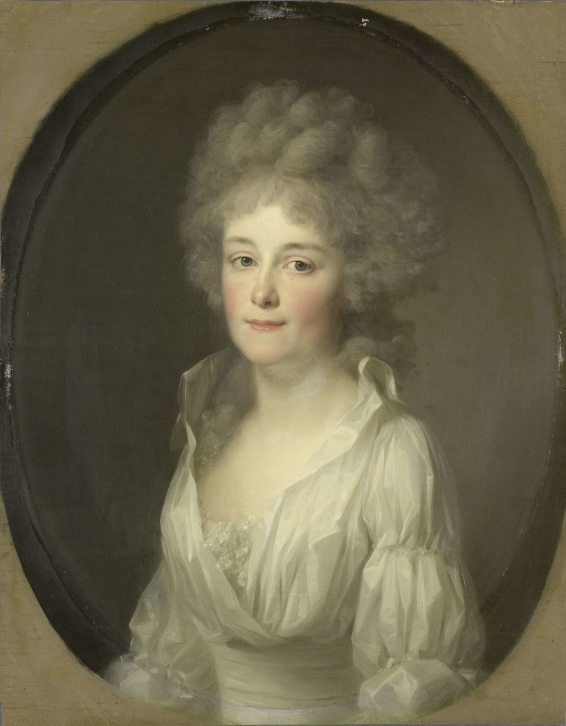Portrait of Johanna Ferdinanda van Collen, Wife of Salomon Rendorp