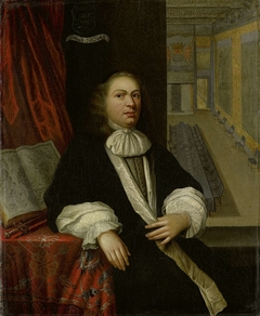 Portrait of Justus de Huybert, Clerk of the States of Zeeland and of the Admiralty