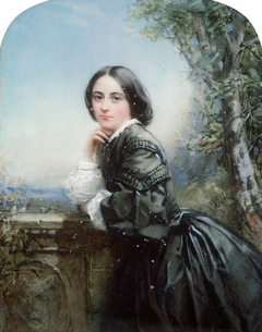 Portrait of Lady in a Dark Dress