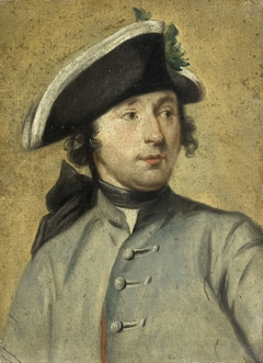 Portrait of Ludolf Backhuysen II, Painter and Dragoon, Grandson of the Marine Painter Ludolf Backhuysen I
