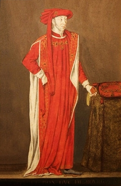 Portrait of Philip the Good in the costume of the Order of the Golden Fleece.