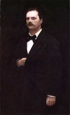 Portrait of the Composer Johan Svendsen