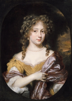 Portrait of the wife of Hendrick Meulenaer (Anna or Maria)