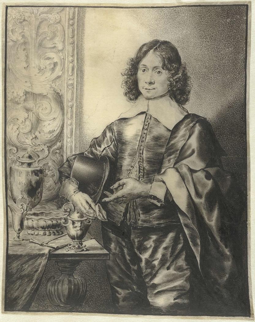 Portret van de edelsmid Janus Lutma de Jonge