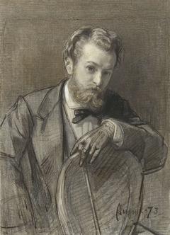 Portret van Gerardus Allebé