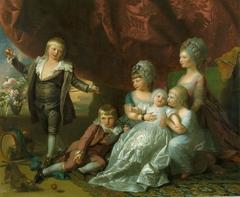 Princess Augusta, Princess Elizabeth, Prince Ernest, Prince Augustus, Prince Adolphus and Princess Mary