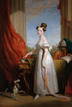 Queen Victoria (1819-1901) when Princess