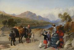 Queen Victoria at Loch Laggan