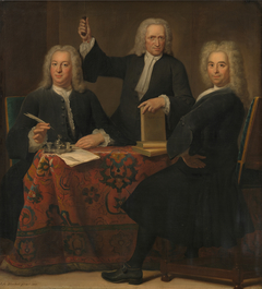 Regents of the Leper house in Amsterdam, 1741