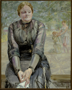 Reverie – portrait of sister Helena Karczewska