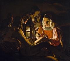Saint Sebastian Nursed by Saint Irene