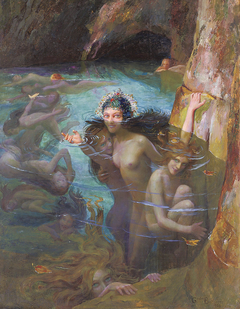 Sea Nymphs at a Grotto