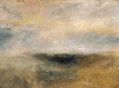 Seascape with Storm Coming On