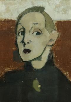 Self-Portrait in Black Dress