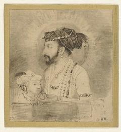 Sjah Jahan en zijn zoontje