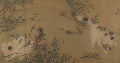 Spring Play in a Tang Garden