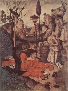 St. Jerome and Abraham panels