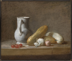 Still Life with Cherries and Turnips