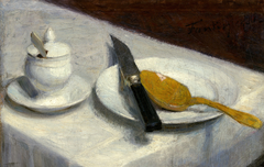 Still Life with Mustard Pot