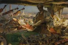 Stradivarius in his Workshop
