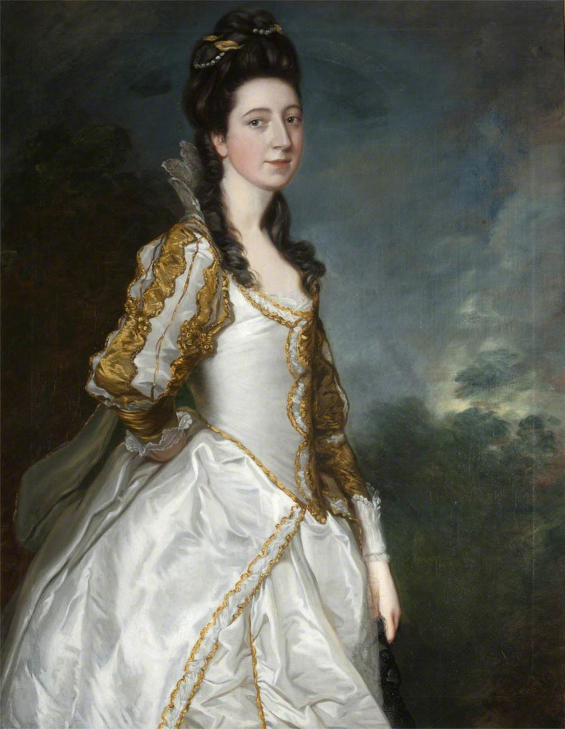 Susanna 'Suky' Trevelyan, Mrs John Hudson (1736-1779)
