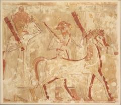 Syrians Bringing Horses, Tomb of Rekhmire