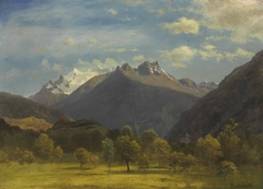 The Alps from Visp