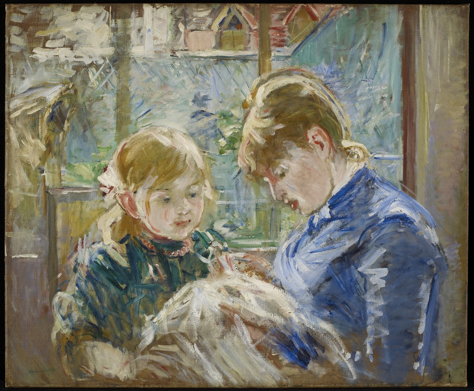 The Artist's Daughter, Julie, with her Nanny
