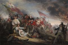 The Battle of Bunker's Hill, June 17,1775