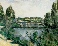 The Bridge and Dam at Pontoise (Le Pont et le déversoir à Pontoise)