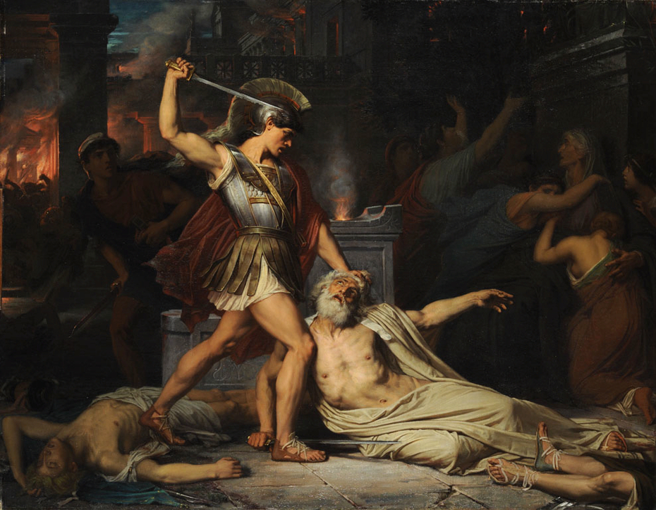 The Death of Priam