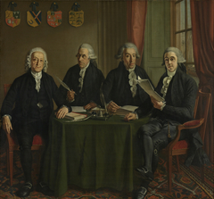 The Four Chief-Commissioners of the Harbors, Ramparts and Cranes of Amsterdam