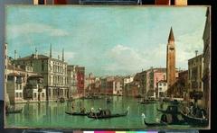 The Grand Canal, Venice, Looking Southeast, with the Campo della Carità to the Right
