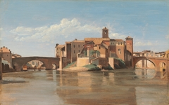 The Island and Bridge of San Bartolomeo, Rome