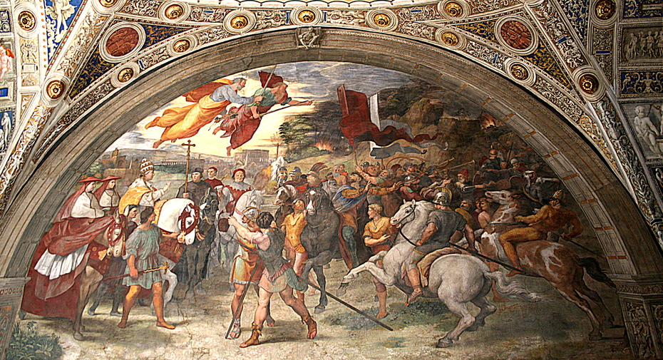 The Meeting of Leo the Great and Attila