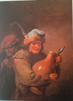 The Merry Drinker with Large Crock