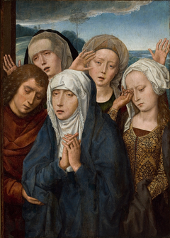 The Mourning Virgin with Saint John and the Pious Women from Galilee