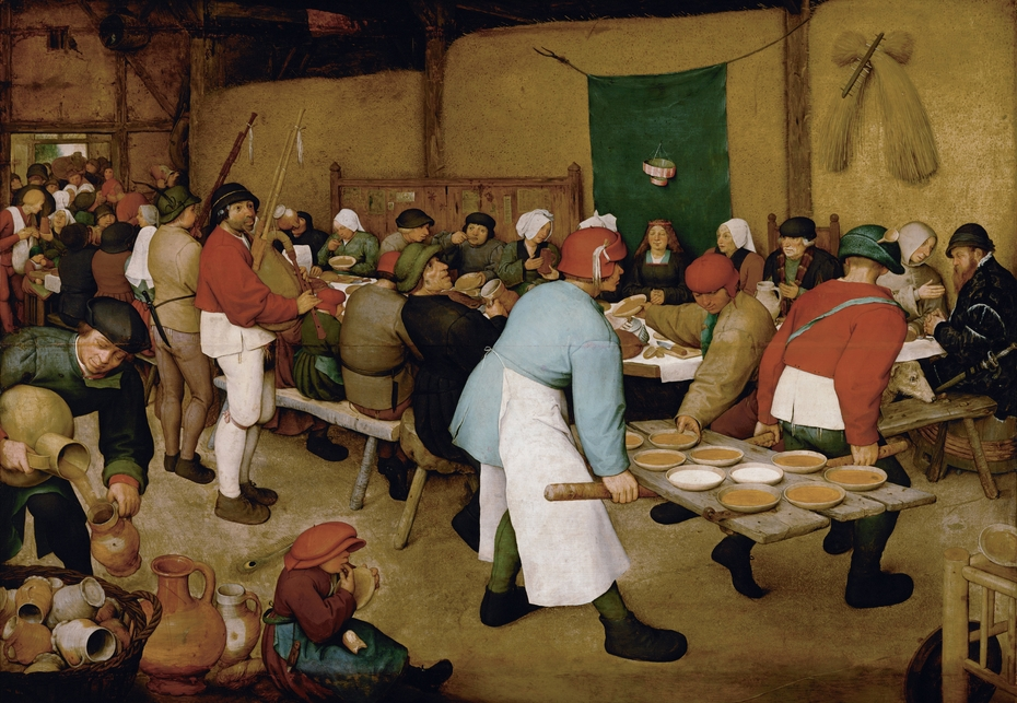 The Peasant Wedding