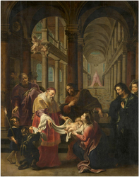 The purification of the holy virgin