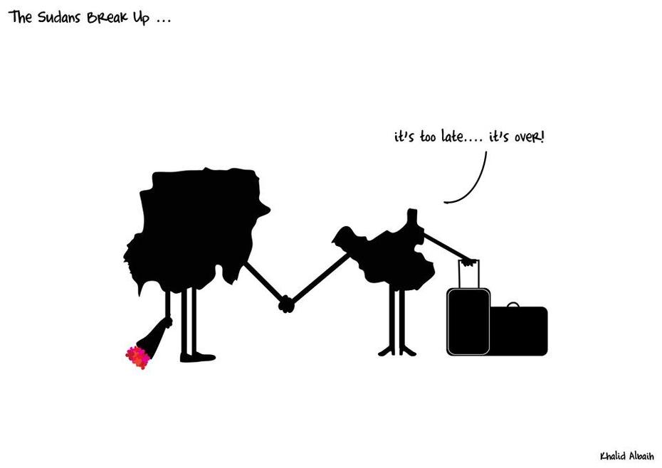 The Sudan's Break Up...
